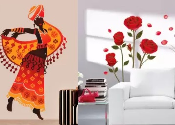 STEAL : MIN. 80% OFF On Wall Sticker Under Rs.99 + FREE Shipping