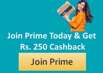 BUMPER OFFER : Get Amazon Prime Membership Today at Just Rs. 250