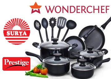 Steal : Min.50 – 80% Off On Branded Cookware From Rs.149 + FREE Shipping