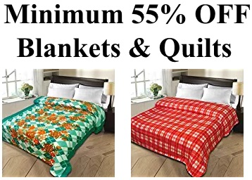 Christy's Collection Blanket at Minimum 55% OFF From Rs. 219