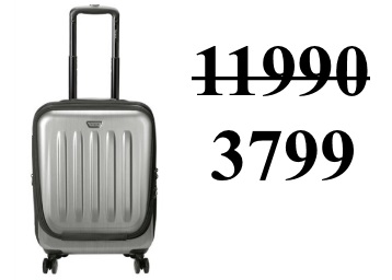 Targus Transit 360 Spinner 15.6-inch Laptop Bag at Just Rs. 3799 discount deal