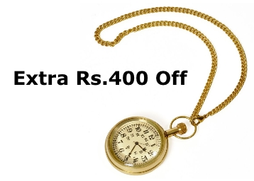Antique Design Usable Real Gandhi Watch at Just Rs. 461 + FREE Shipping low price