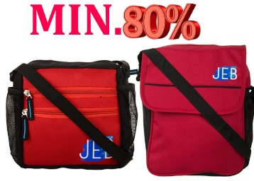 STEAL : Get Min.80% Off On JEB Bags From Just Rs.199 + FREE Shipping low price