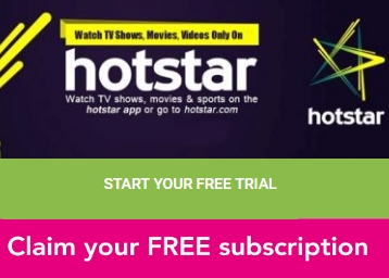 2f166f3ec50 Hurry Up !! Get Your First Month HotStar Premium Subscription FREE ...