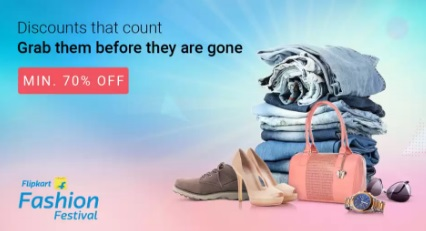 FLAT 70% Off Store – Min 70% Off on Fashion & lifestyle products low price