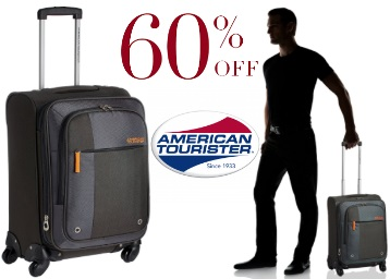 Flat 60% off:- American Tourister Hugo Carry-On at Just Rs. 2880 discount deal