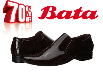 STEAL : Bata Men'sFormal Shoes at just Rs.599 + FREE Shipping discount deal