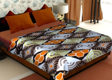 STEAL : Story@Home Double Bed Blanket at just Rs.190 + FREE Shipping low price
