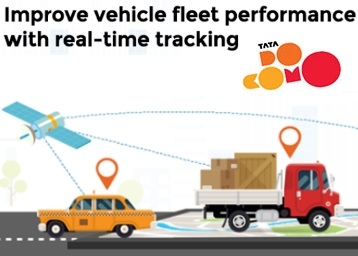 Real Time Tracking of Your Vehicle & More with Tata Docomo Business Services low price