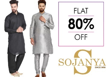 Diwali Steal:- Sojanya Kurtas & Pyjama at FLAT 80% off + Extra 10% off + More low price