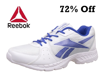 bcea50e4993 BUMPER PRICE – Reebok Speed Up Xt White   Blue Running Shoes 72% Off ...