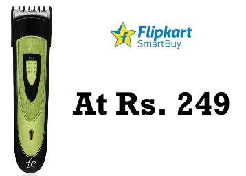 Budget Buy : Flipkart SmartBuy Trimmer for Men at Rs. 249 + FREE Shipping low price