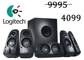 Steal : Logitech Z506 5.1 Channel Sound Multimedia Speakers at just Rs.4099 + FREE Shipping discount deal