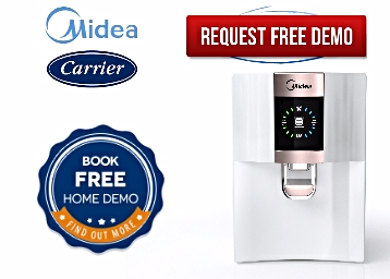 Book A FREE Demo Of Midea Water Purifier [First Water Purifier With Copper] low price