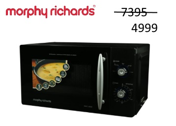 Flat 32% Off On Morphy Richards 20 L Solo Microwave Oven + Extra 10% Cashback discount deal