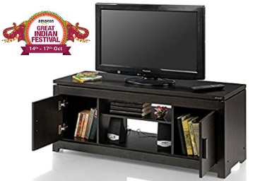 Royal Oak Urban TV Unit (Wengy) at Flat 55% OFF + 10% Cashback discount deal