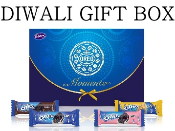 Diwali Gift Box : Cadbury Oreo Crème Biscuit at Rs.270 + 15% Cashback discount deal