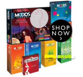 Grab Now :- Moods Condom packs Minimum 41% OFF from Rs. 283 discount deal