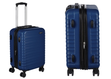 Lightning Deal : AmazonBasics Hardside 20″ Suitcase at Just Rs. 3199 low price