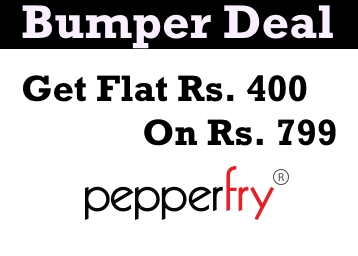 Pepperfry off on orders