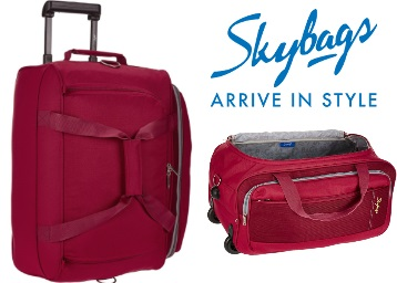 Skybags Cardiff Polyester Travel Duffle 52 cms Rs.1242 discount deal