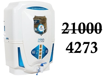 Kinsco Aqua Style 15 L Tds Adjuster Water Purifiers Set at Rs. 4273 discount deal