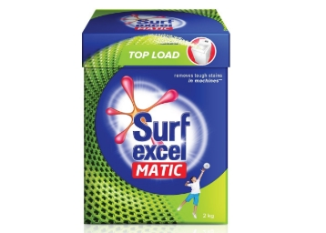 Surf Excel Matic Top Load Powder 2 Kg at Extra Rs. 75 Cashback low price
