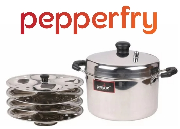8ae765ff6 Pristine Stainless Steel Idli Maker at Just Rs. 389  Shipping Included
