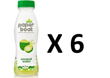 Very Healthy:- Paper Boat Coconut Water, 200ml (Pack of 6) at Rs. 192 low price