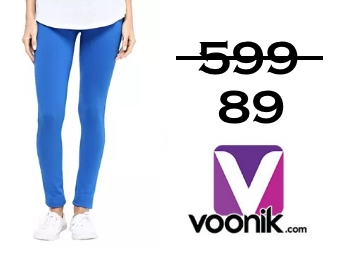 Voonik Best Offer : Grab Jeggings & Leggings at Rs. 89 + FREE Shipping low price