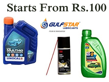Car Oil discount offer