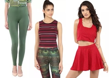 Get Women's Tops, Leggings & Jeans at Under Rs. 399 Only low price