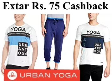 Urban Yoga Mens Clothing Minimum 70% Off From Rs. 209 + FREE SHIPPING low price