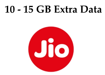 Jio Sunday Surprise – Jio Has Added 10-15GB Data On Add Ons !! Check Now !! discount deal