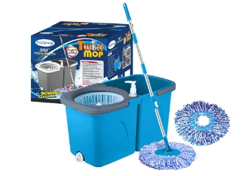 Super Deal:- Primeway 360 Cleaning with 2 Microfiber Mop at Rs. 639 [Shipping Added] low price