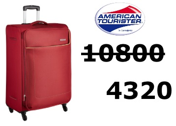 Flat 60% off:- American Tourister Jamaica 80 cms Suitcase at Rs. 4320 low price