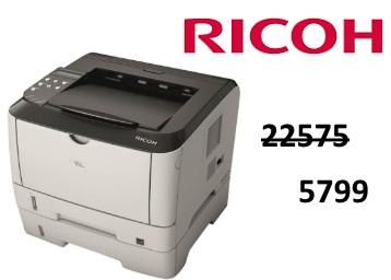 Biggest Discount:- Ricoh Aficio Monochrome Laser Printer at Rs. 5799 low price