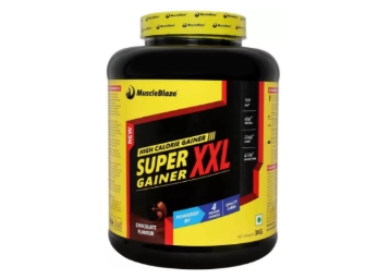 PRICE UP – MuscleBlaze Super Weight Gainer XXL Mass Gainers (3 kg) at Rs. 1064 low price