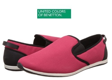 Flat 75% Off : UCB Espadrille Flats Footwear + Extra Rs. 75 Cashback discount deal