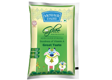 Mother Dairy Cow Ghee, 500ml at just Rs.209 low price