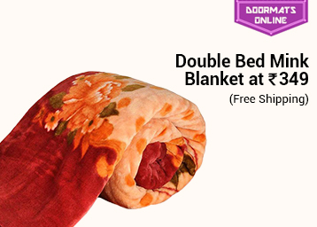 Big in Size:- Single Bed Mink Blanket At Rs. 299 + FREE SHIPPING low price