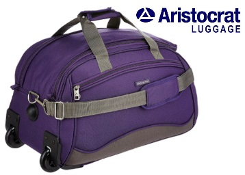 Flat 60% off:- Aristocrat Volt 53 cms Travel Duffle at Rs. 1293 discount deal