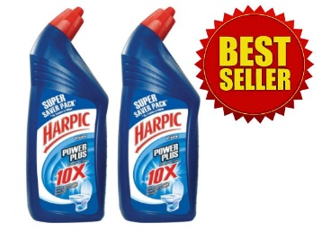 Harpic Powerplus – 1 L (Pack of 2) at Just Rs.208 (After Cashback) discount deal