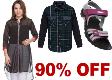 Clearance Sale Clothing Footwear discount offer