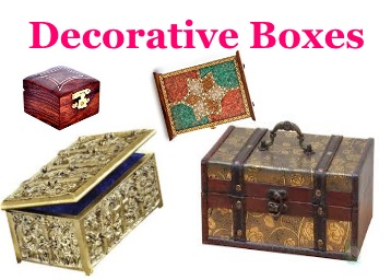 Decorative Boxes : Min. 50% Off Under Rs. 999 + FREE Shipping discount deal