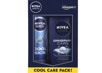 [Market Price Rs. 370] – Nivea Men Cool Kick Combo at Rs. 178 discount deal