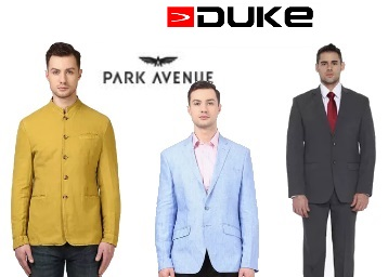 Ultimate Collection:- Park Avenue Suits & Blazers at Flat 70% OFF discount deal