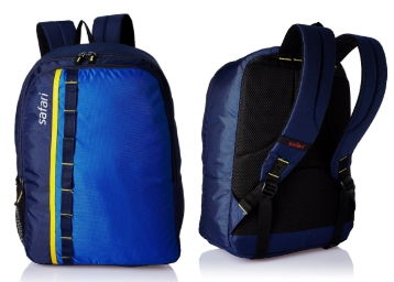 Safari 25 Ltrs Blue Casual Backpack (Jump 2 Blue) at Just Rs. 489 discount deal