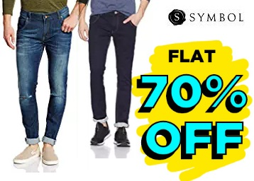 Limited Stocks:- SYMBOL Men's Jeans at Flat 70% off + Free Shipping low price