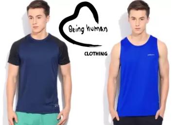 b3a7aa3b6 ... Being Human Men s Clothing at Flat 70% OFF. Freekaamaal.com